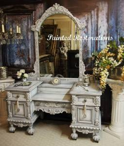 Ornate Victorian Vanity