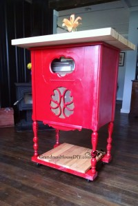 Radio Cabinet to Kitchen Island