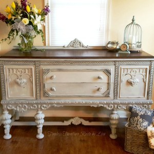 Beautiful Jacobean Buffet