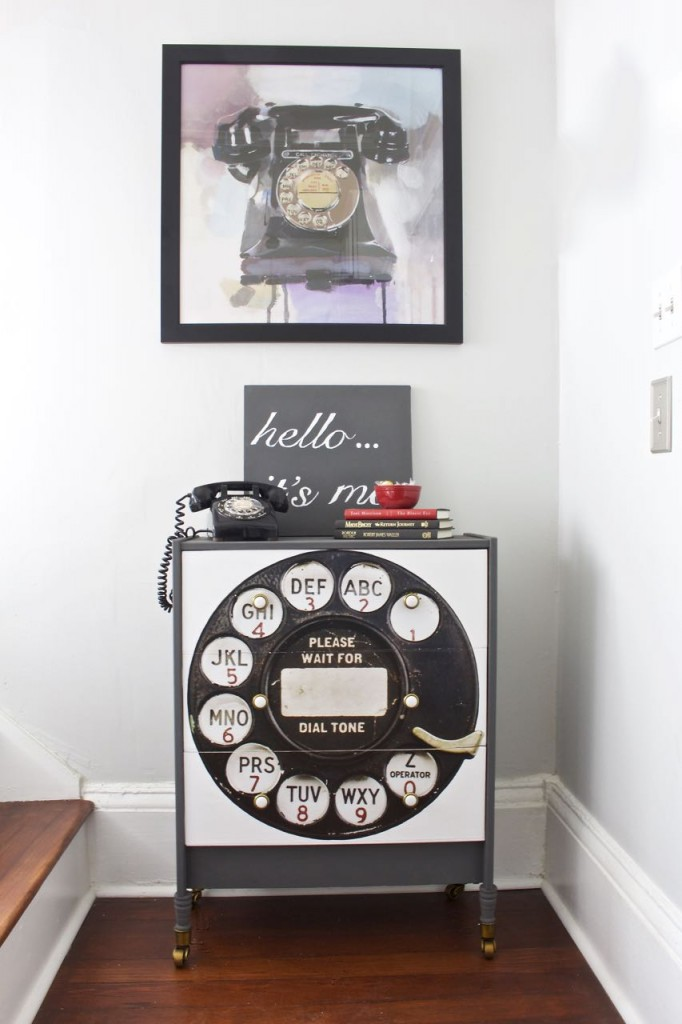 Rotary Phone IKEA Rast Hack - by 2 Bees in a Pod