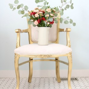 Glamorous Gilded Chair