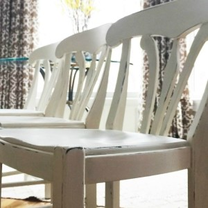 Barstools into Table Chairs