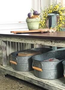 Rustic Coffee Table Redo