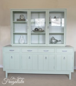 Mint Hutch Makeover