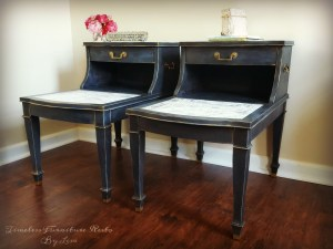 Chic Twin Tables