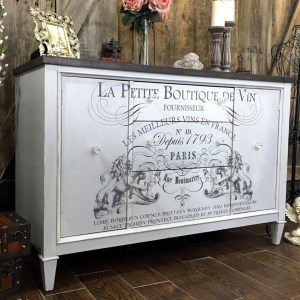 French Image Transfer Buffet