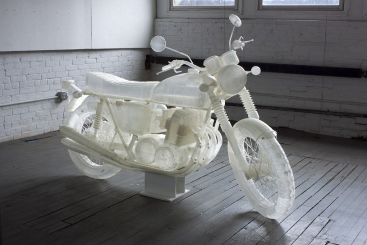 3D printed motorcycle