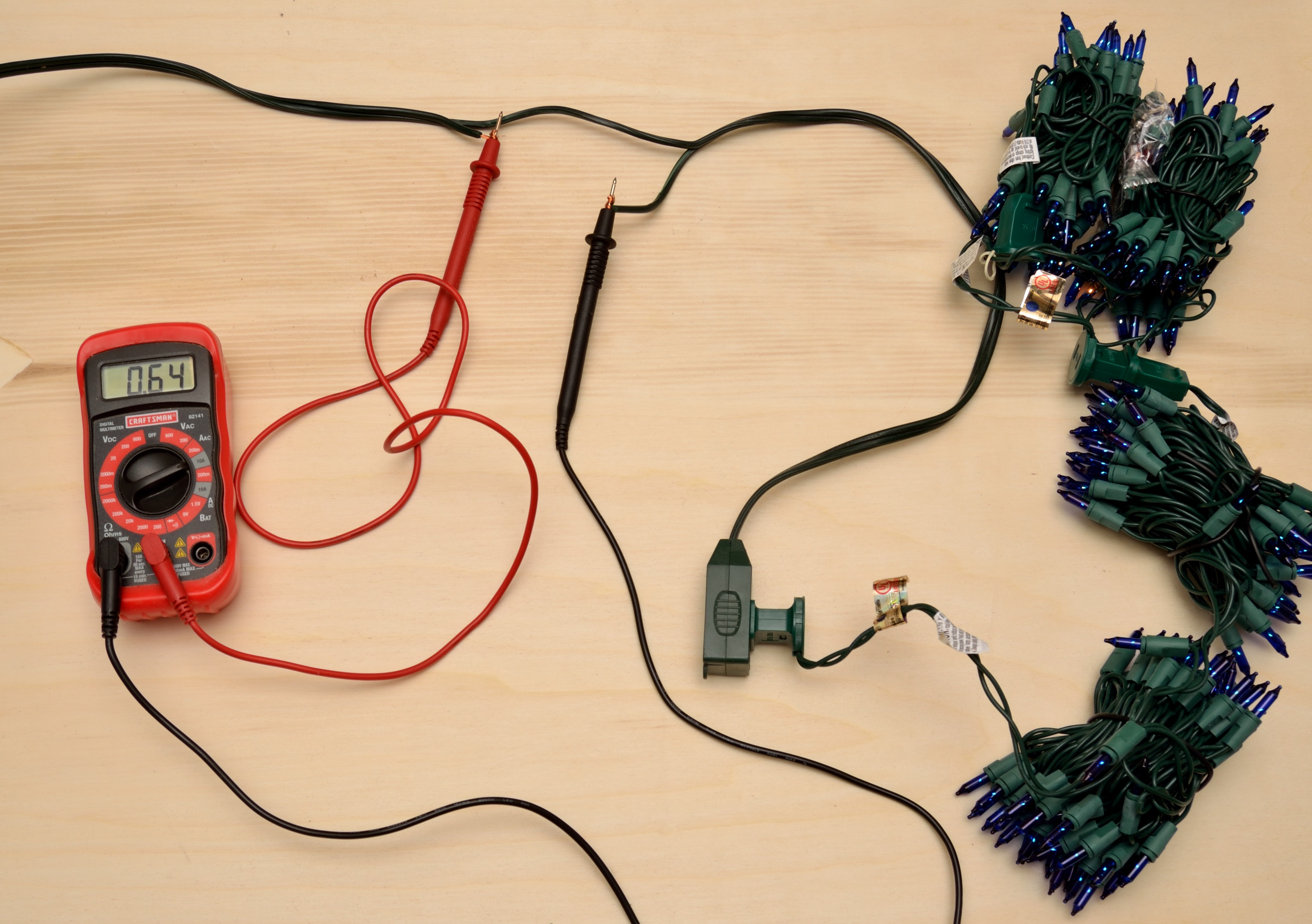 Diy Raspberry Pi Christmas Tree Light Show Diygadgets Wiring Diagrams Test Rather Than Hook Up Full Strings Of Lights I Hooked Cheap 1 Night To Each Extension Cord And Develop The Animations Before