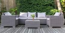 5 grey rattan furniture sets