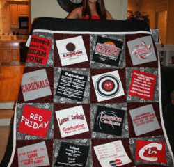 DIY School Spirit Quilt