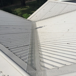 DIY-Gutter-Guard-Valley- Kit-Corrugated Roof