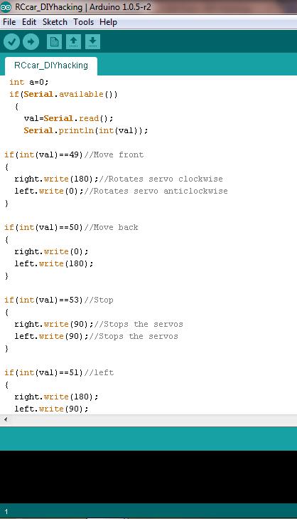 Arduino code