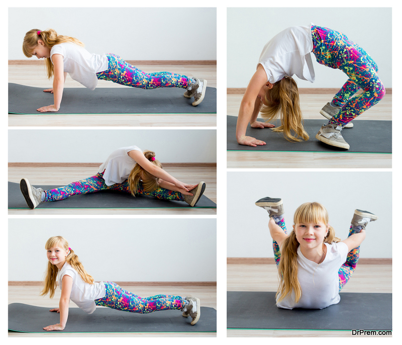 Yoga poses to help your child sleep better