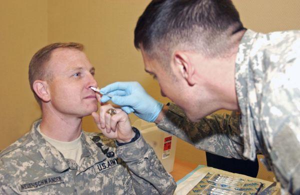 FluMist inhaled vaccine