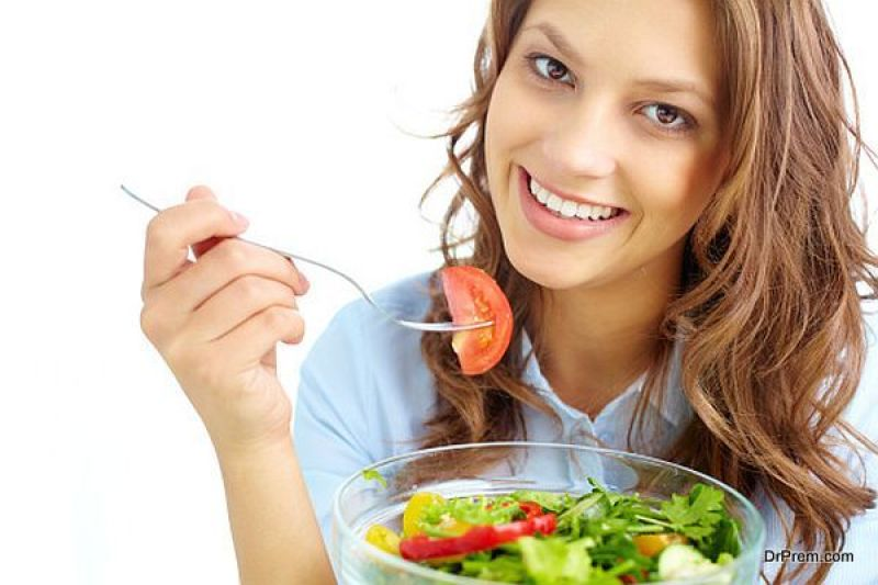 well-balanced and nutritional diet
