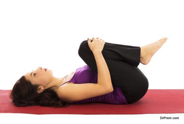 Yoga relaxation Pose