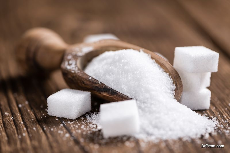 Sugar in removing stretch marks