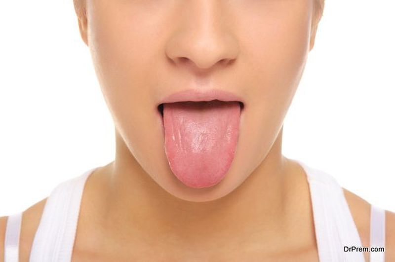 check your tongue