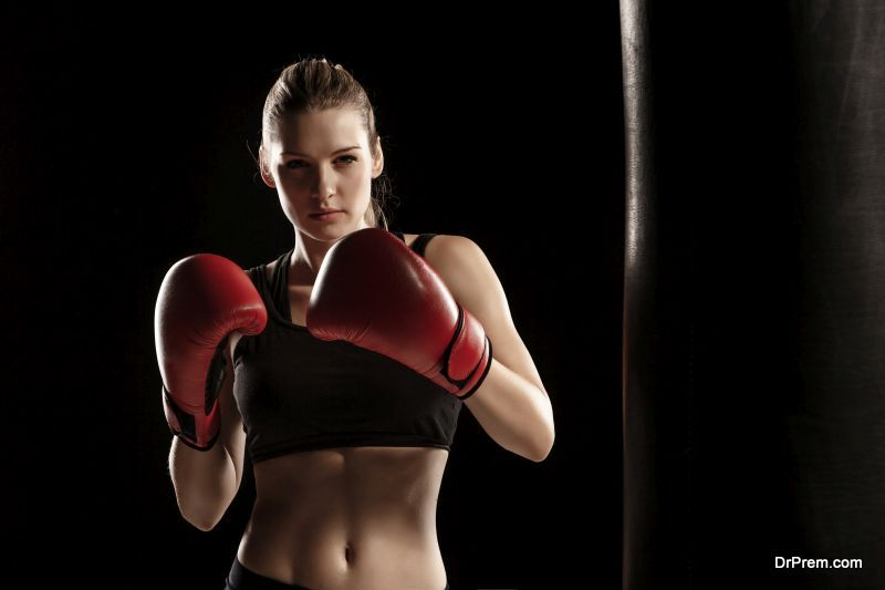 Boxing Helps To Combat Stress
