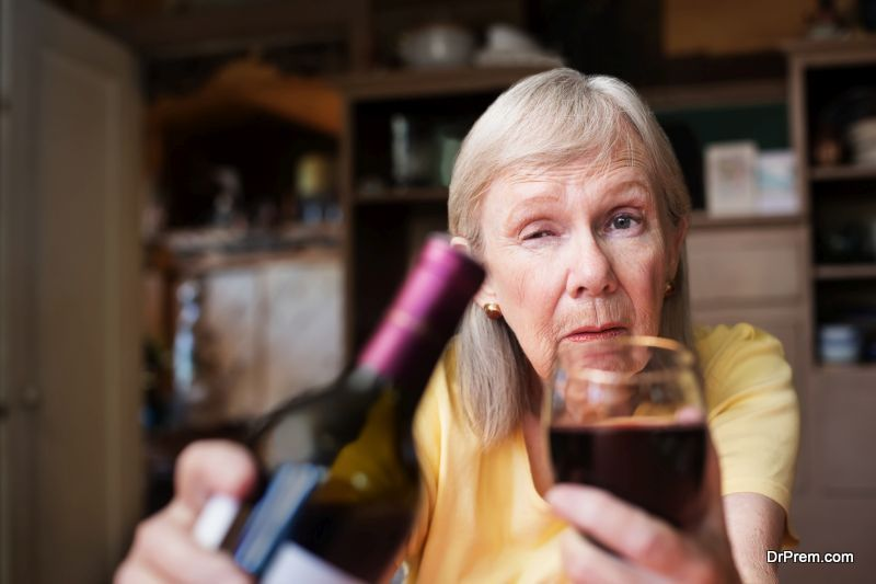 Alcohol-Dependency-in-Older-Woman
