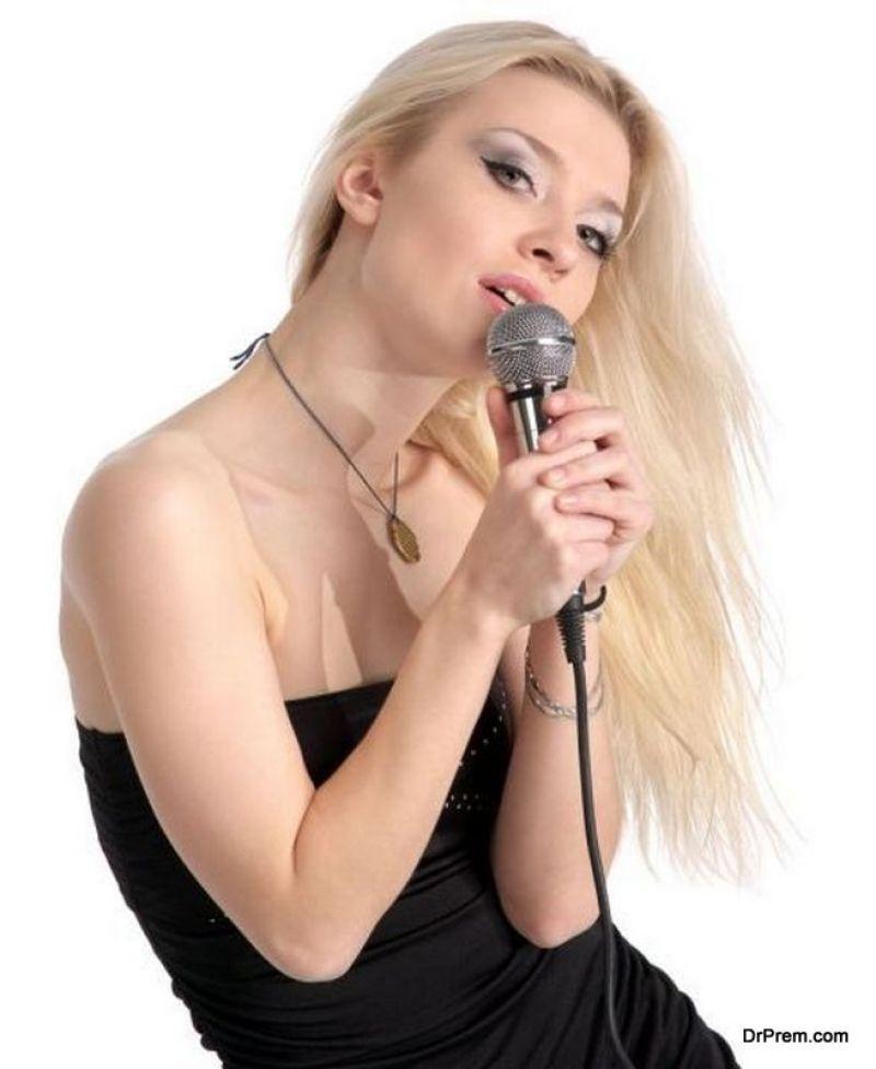 poor singing
