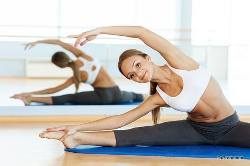 Yoga-practise