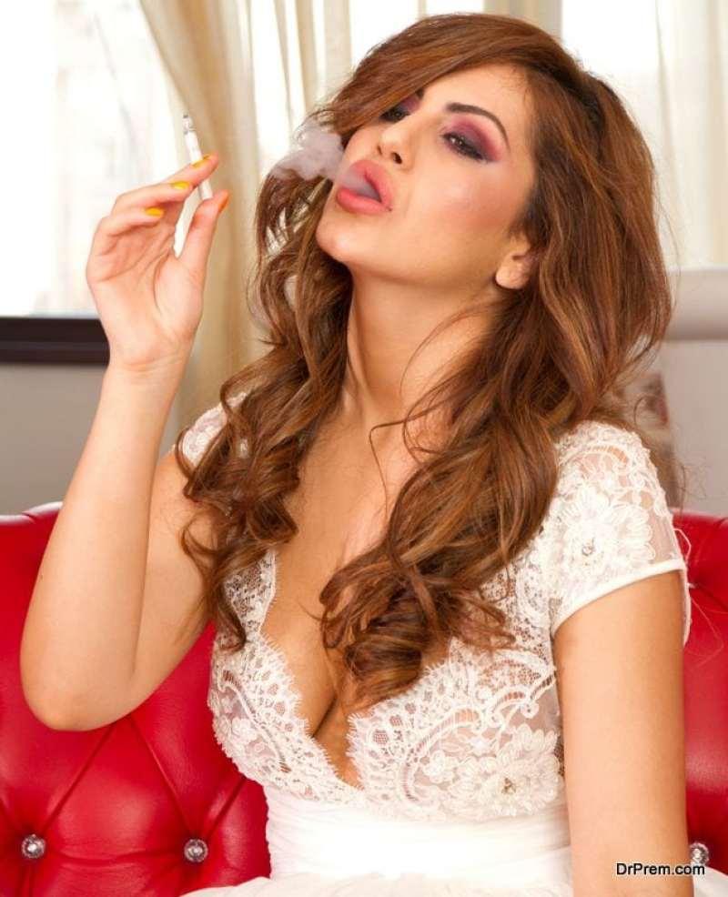 Nicotine in cigarettes