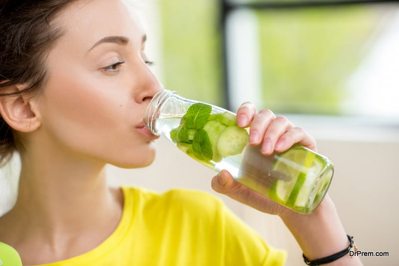 water recipes for weight loss