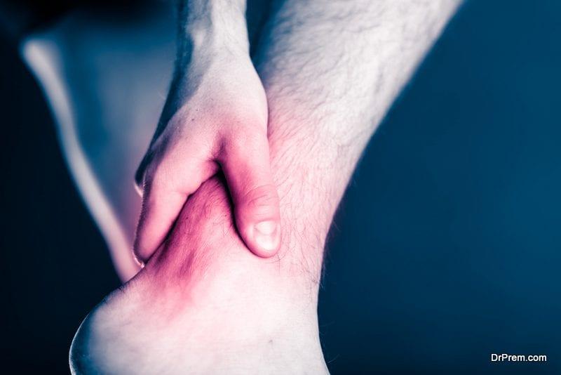 Ankle Plantarflexion Dorsiflexion exercise