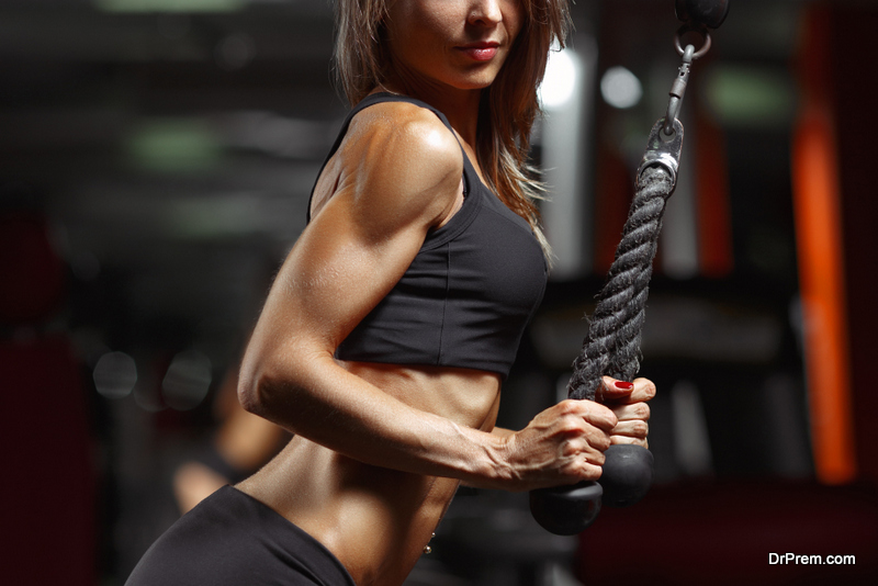 Avoid working only major muscle groups