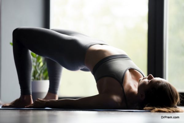 Yoga asanas in times of excessive bleeding in menstruation