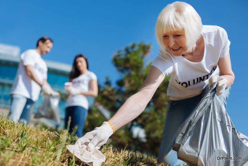 find joy in volunteering