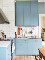Relax in Elegance with Blue Kitchen Ideas   DIY Home Art