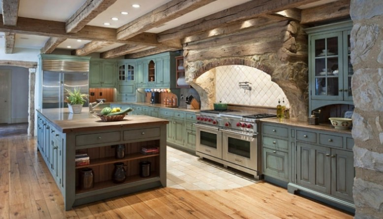Choosing the Right Furniture for Farmhouse Kitchen Designs - DIY ...