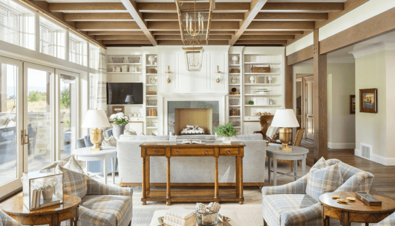 Rustic but elegant how to create the ultimate farmhouse for Elegant farmhouse living room