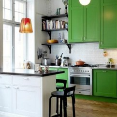 Green Kitchen Cabinets Hood Vent Refresh Your Mind With Beautiful Ideas Diy Home Art