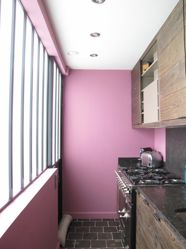 Purple Kitchen Walls