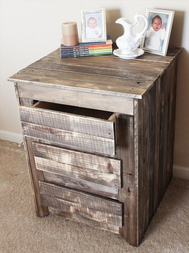 End Tables with Drawers