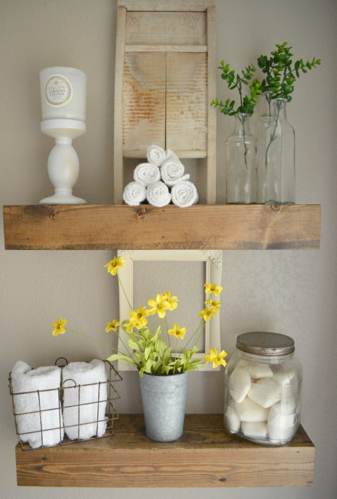 Ideas for Vintage and Modern Farmhouse Bathroom Decor ...