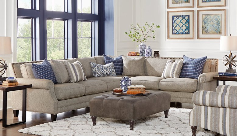 Awesome Furniture Ideas for Your Sectional Sofa Living Room - DIY ...