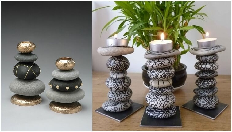 11 Super Cute Ideas For Rock Painting Craft Diy Home Decor