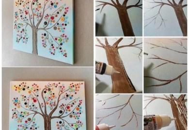 How To Paint A Family Tree On A Wall