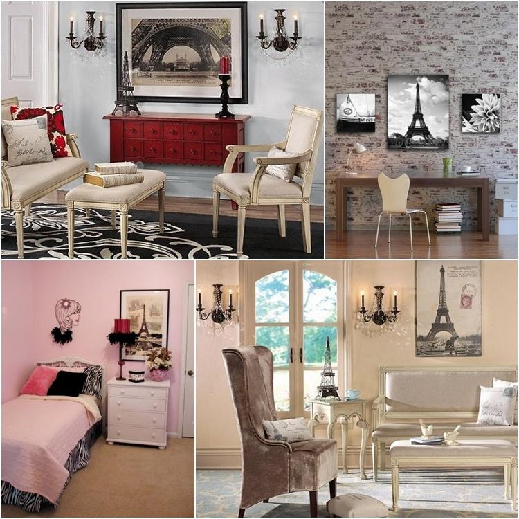 Modern Paris Room Decor Ideas. SaveEnlarge & Parisian Decorating Ideas - Elitflat