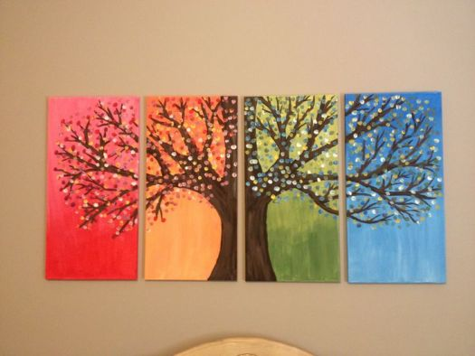 Diy Home Decor Painting Canvas Ideas