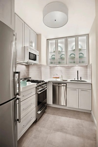 small space kitchen Modern Small White Kitchens Decoration Ideas