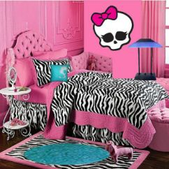 Wall Stickers Living Room Furniture Chairs Monster High Decor Ideas For Kids