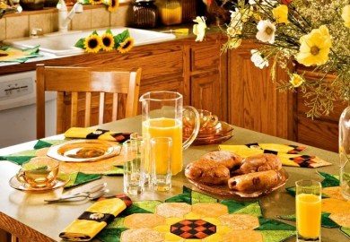 Sunflower Kitchen Set