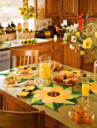 Sunflower Kitchen Decor Ideas For Modern Homes