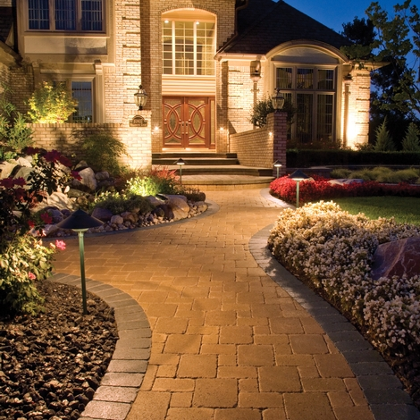 easy driveway landscaping ideas