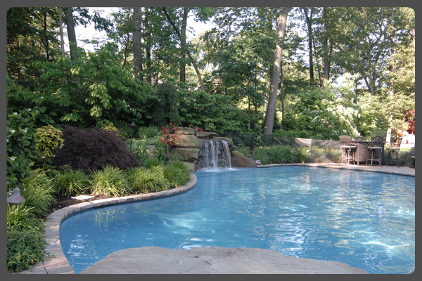 modern pool landscaping ideas